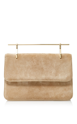 Medium m2malletier neutral suede la fleur du mal