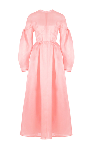 Medium emilia wickstead pink flora dress