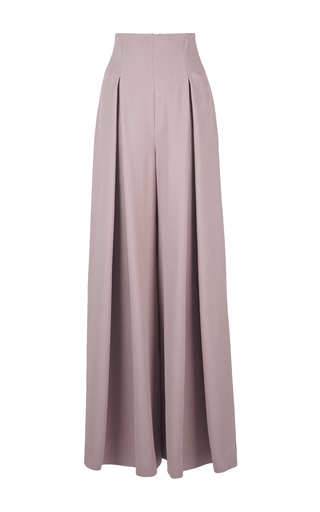 Medium emilia wickstead pink linette wide leg trouser