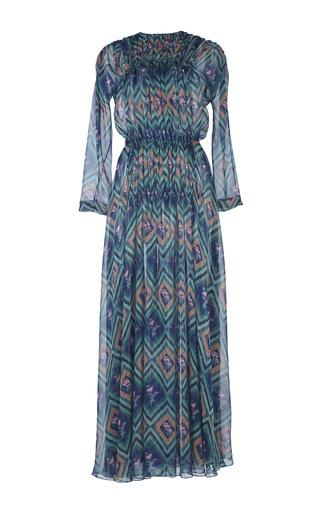 Medium emilia wickstead print vita printed chiffon dress
