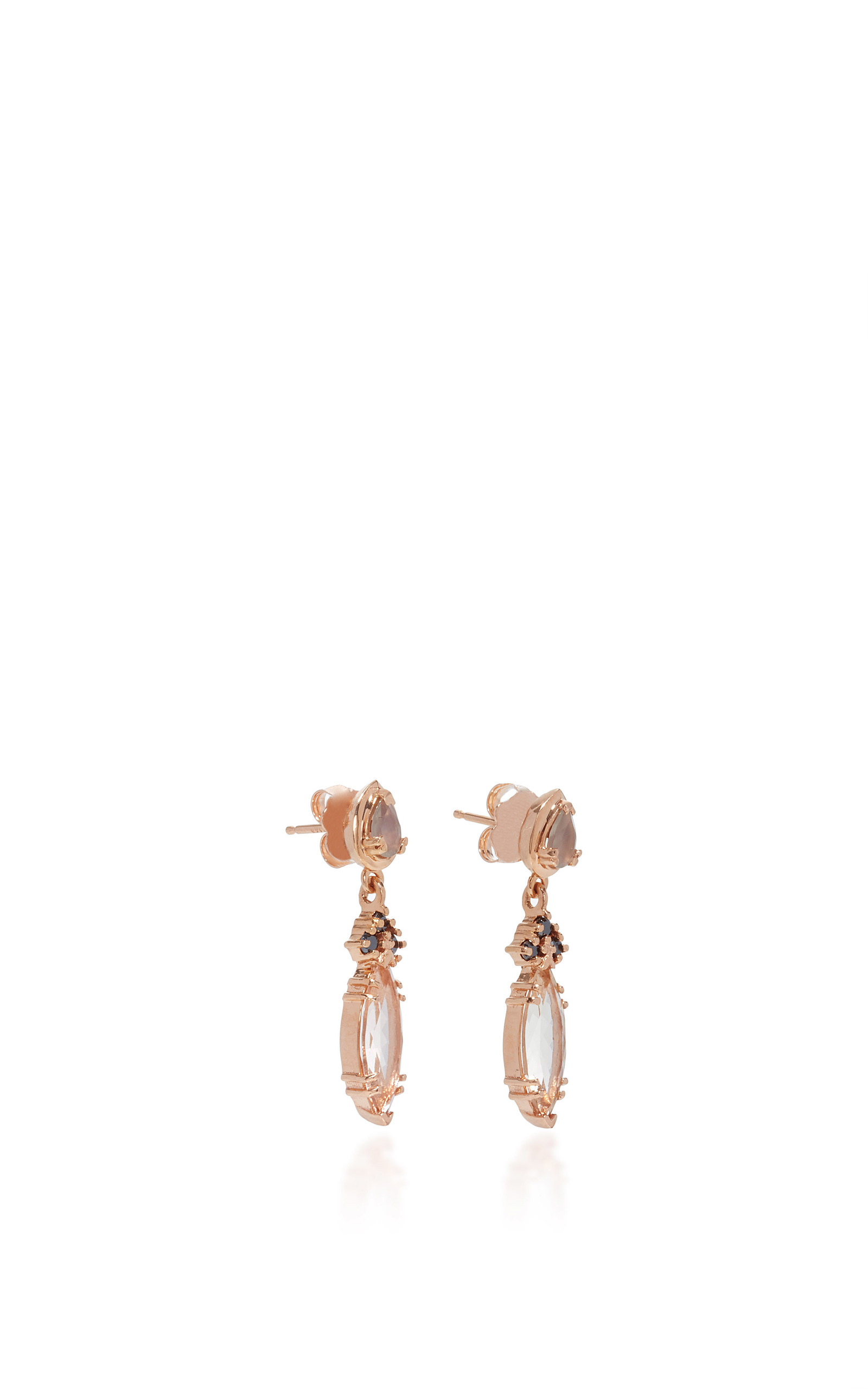 marquise bijoux single stud d bird en white jewel