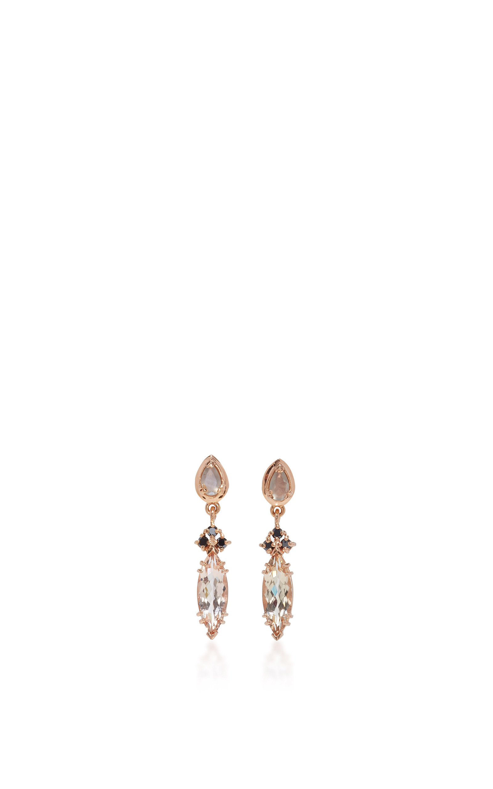 stud in marquise earrings lyst gold jewelry sapphire triple brooke gallery gregson