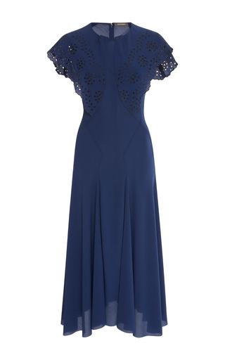 Eyelet short sleeve dress by zac posen moda operandi for Zac posen short wedding dress
