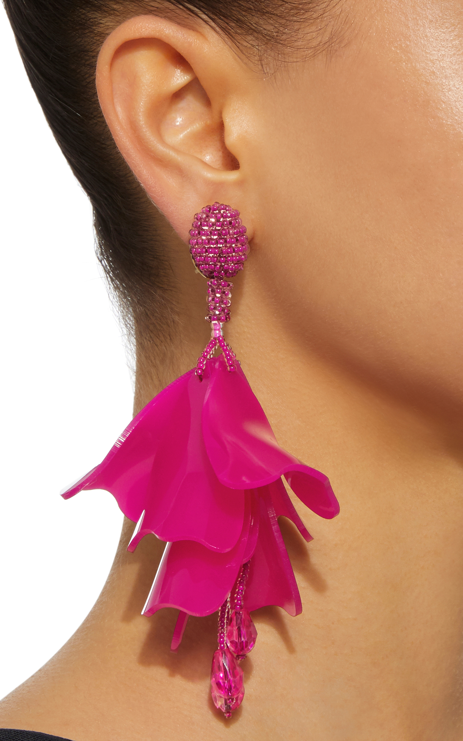 moda de impatiens pink by large loading flower operandi earrings la small renta oscar