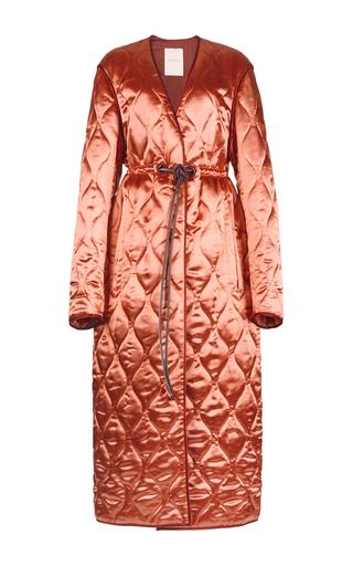 Medium roksanda ilincic neutral toledo belted coat