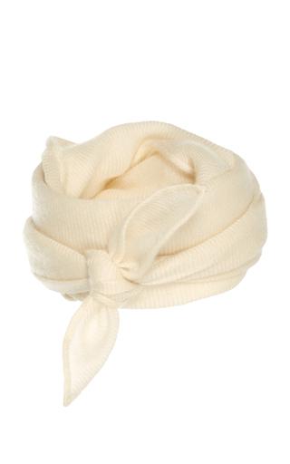Medium ryan roche white woven scarf