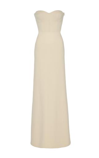 Medium ryan roche white strapless dress