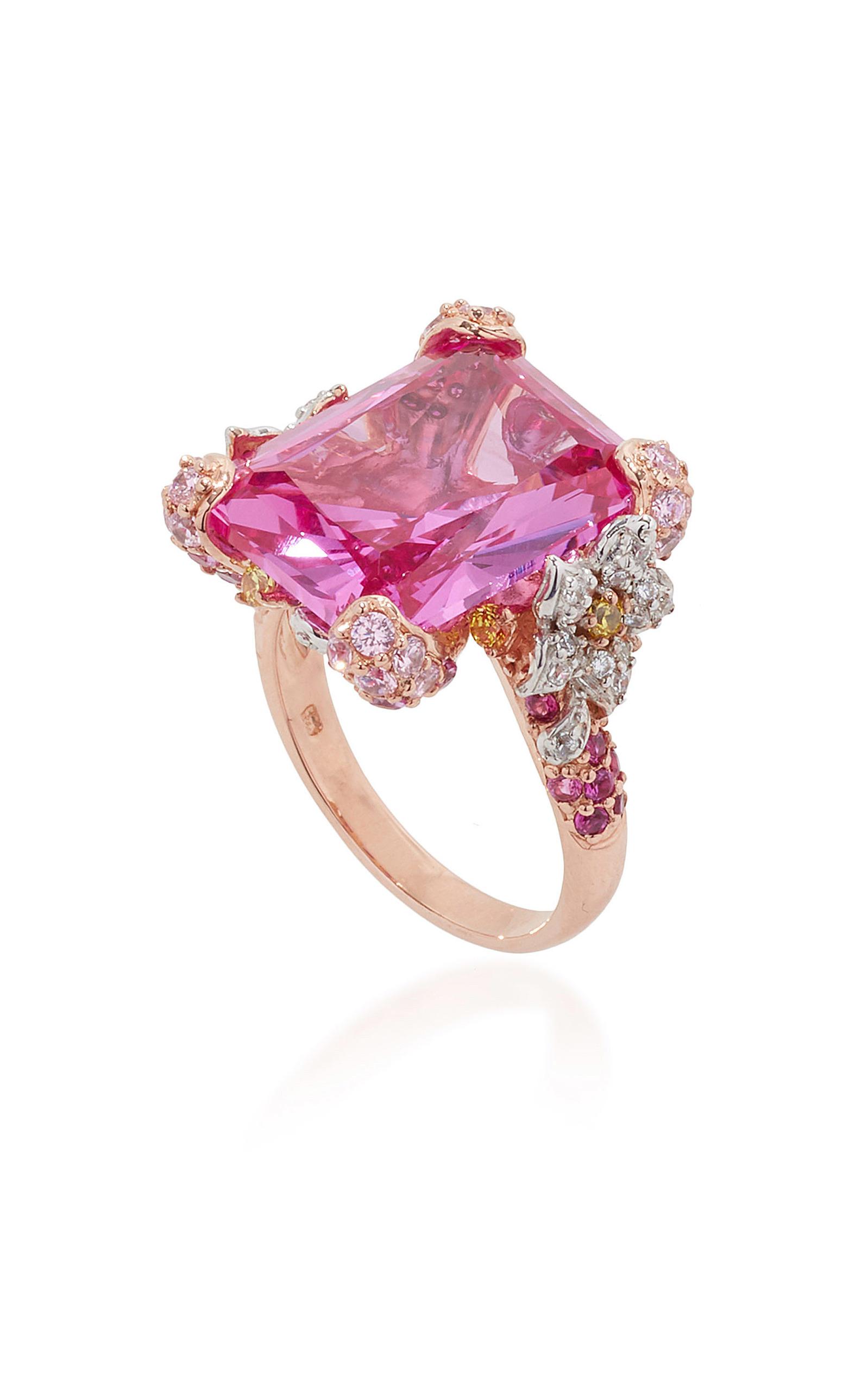 Rose Cinderella Ring by Anabela Chan | Moda Operandi