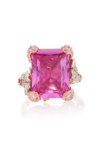 Medium anabela chan pink pale rose cinderella ring