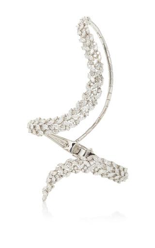 Medium yeprem silver never beyond hand bracelet