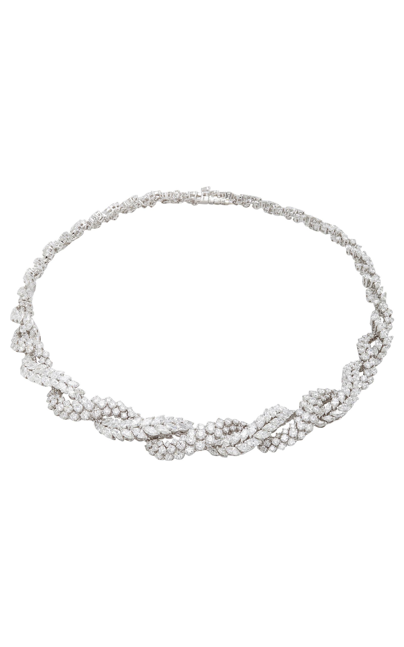 Snowflakes Choker Necklace Yeprem x2PQRtT