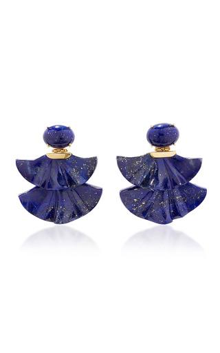 Medium silvia furmanovich blue lapis lazuli earrings