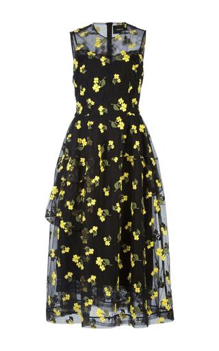 Medium simone rocha multi tulle embroidered little flower dress