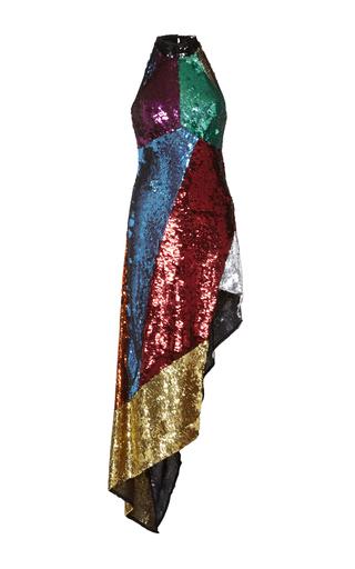 Medium attico multi alice asymmetrical sequin dress