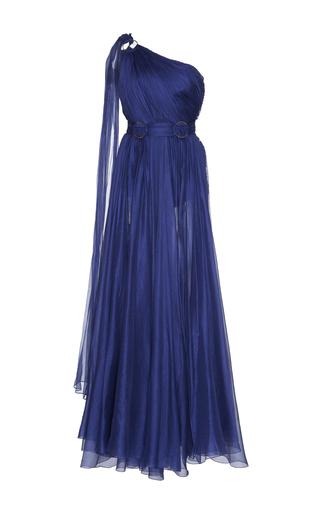 Medium maria lucia hohan blue abeer one shoulder gown