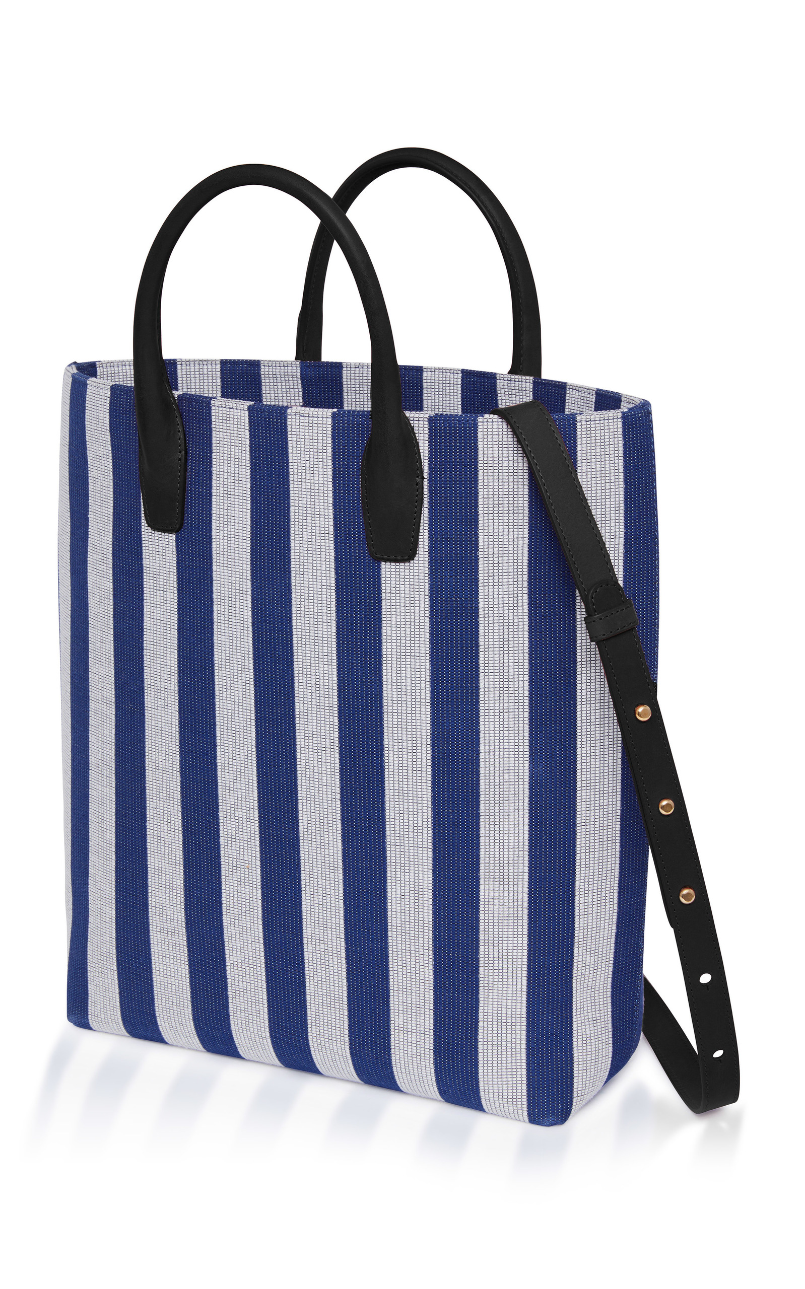 Striped North South Tote Mansur Gavriel YP7sfQPaT