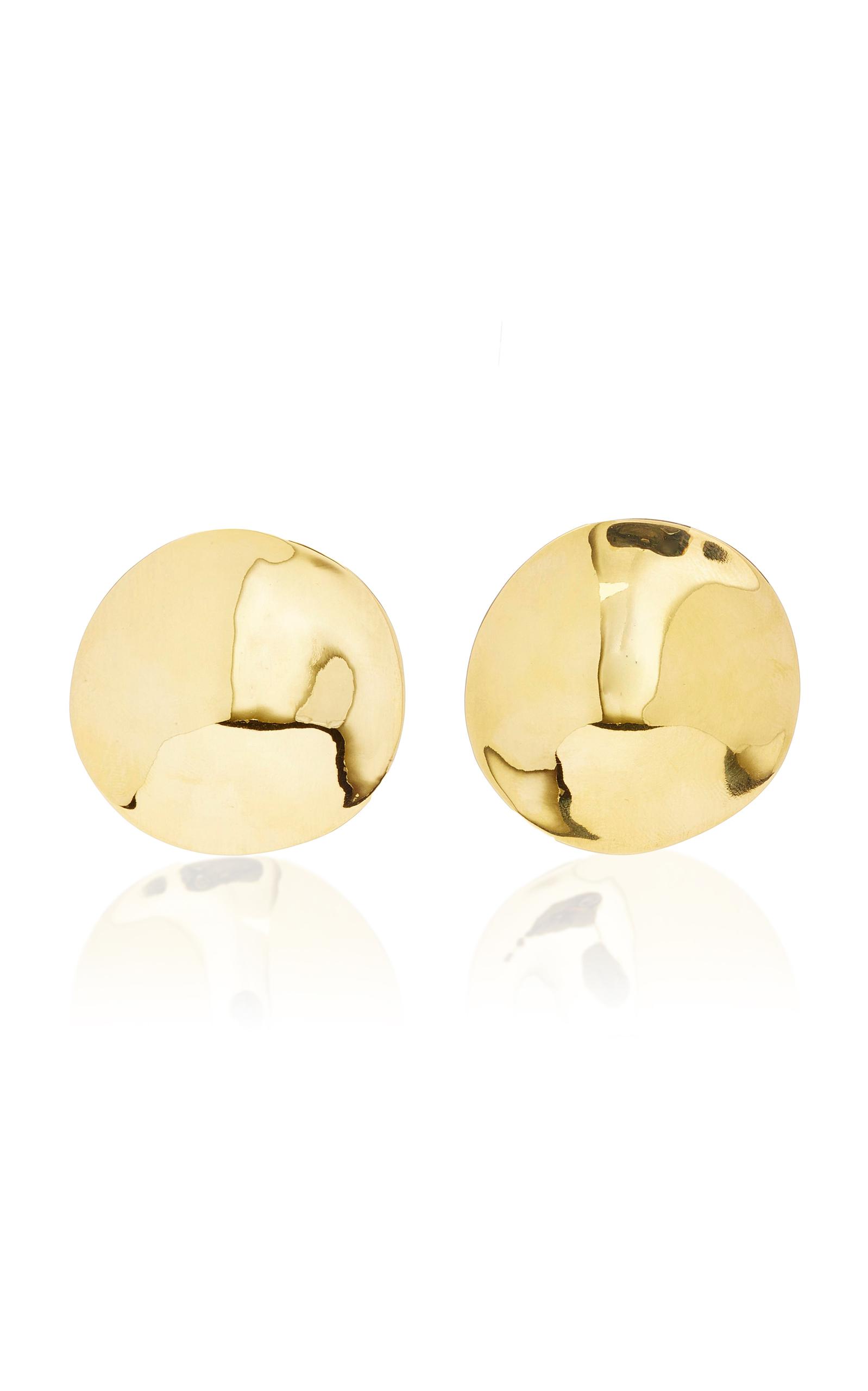 Agmes Cora Gold Vermeil Earrings ZYPyET8b