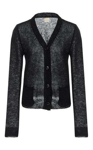 Medium simon miller black tioga wool cardigan