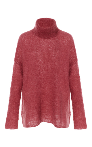 Medium simon miller pink goleta turtleneck sweater 2