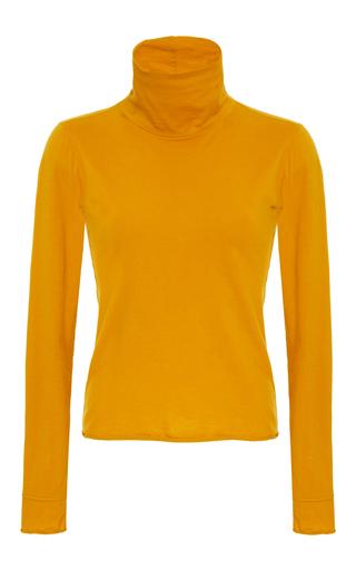 Medium simon miller orange ramos mustard cowl neck sweater