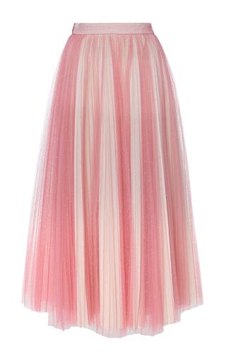 Medium philosophy di lorenzo serafini pink plumetis net midi skirt