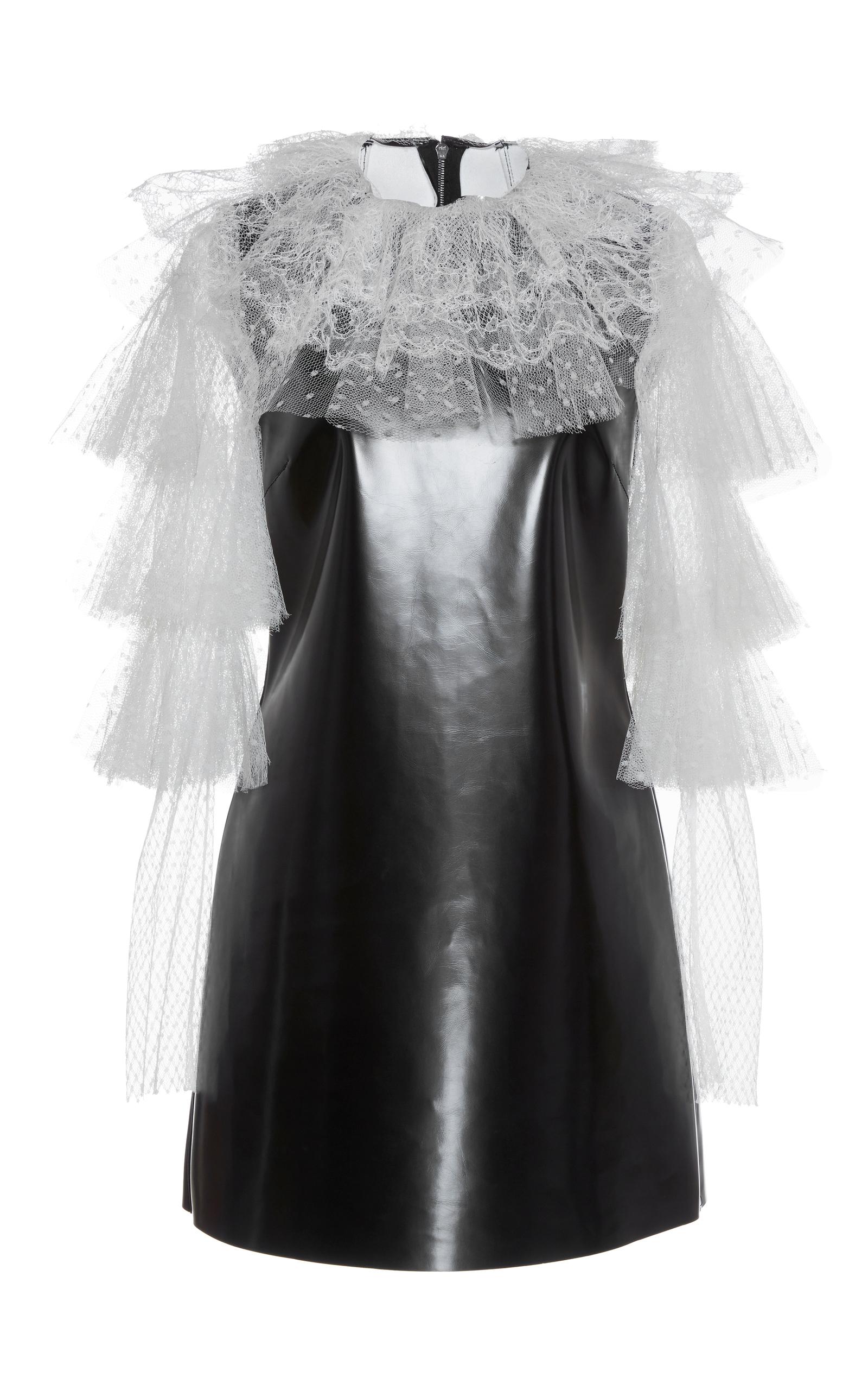 lace mini dress - Black Philosophy di Lorenzo Serafini 7MofOL