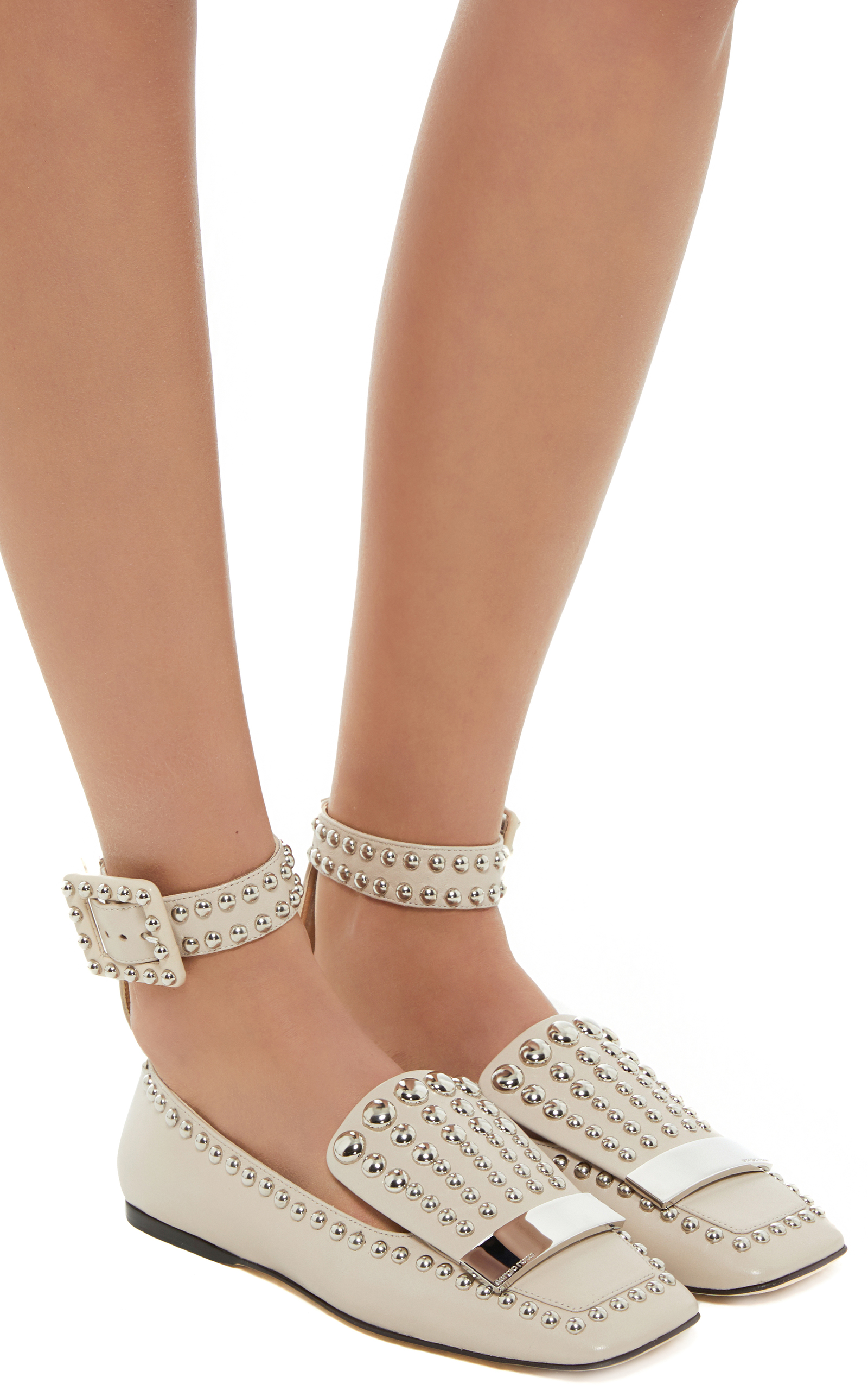 Sergio Rossi studded loafers comfortable free shipping best place sale cheap prices buy cheap footlocker v94mk2cvtV