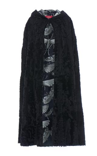 Medium for restless sleepers black xiango fur kore cape