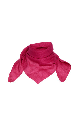 Medium agnona pink luxury cashmere scarf