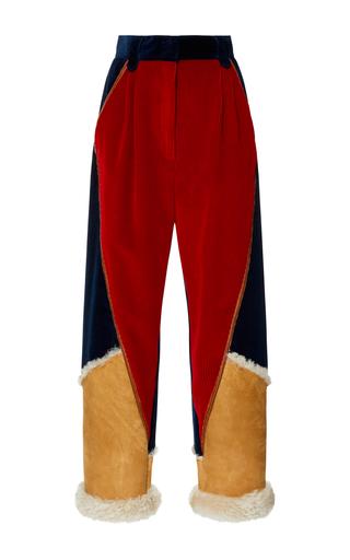 Medium etro multi corduroy pants