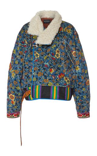 Medium etro floral floral corduroy jacket