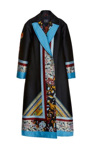 Medium etro multi long sleeve coat