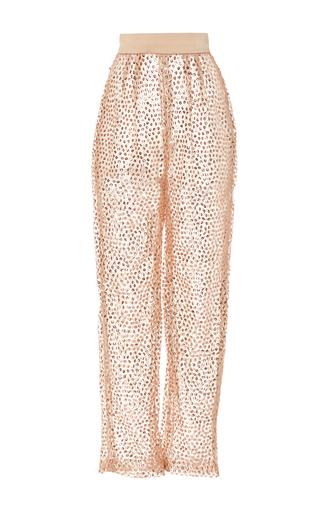 Medium rodarte pink sequin embellished pant