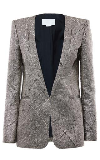 Medium genny silver v neck blazer