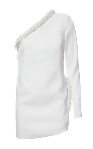 Medium genny white one shoulder mini dress