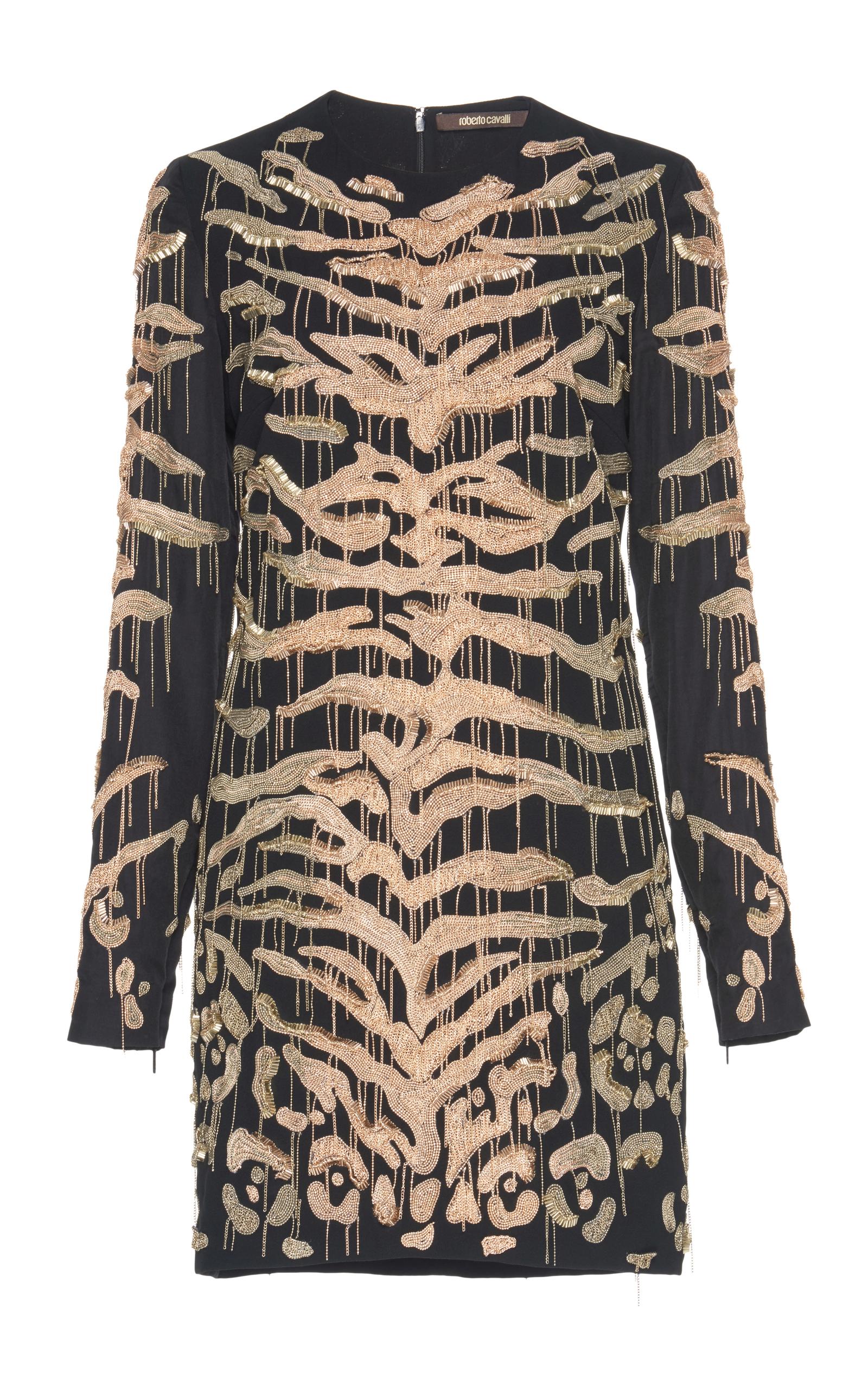Leopard Print Dress by Roberto Cavalli - Moda Operandi