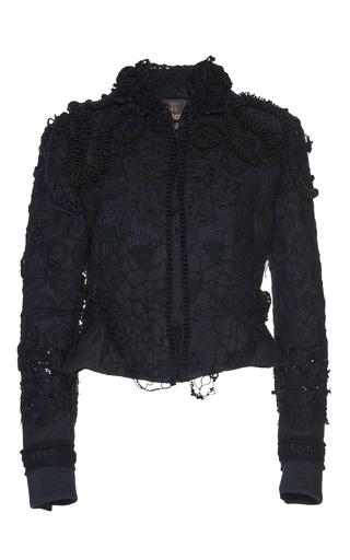 Medium roberto cavalli black fitted jacket