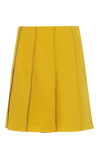 Medium parden s yellow orna yellow mini skirt