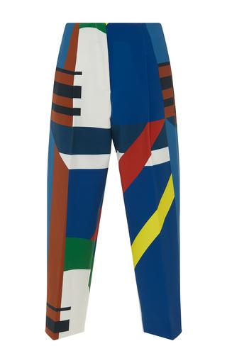 Medium parden s print yok high waisted trouser
