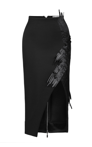 Medium maticevski black eclosion pencil skirt