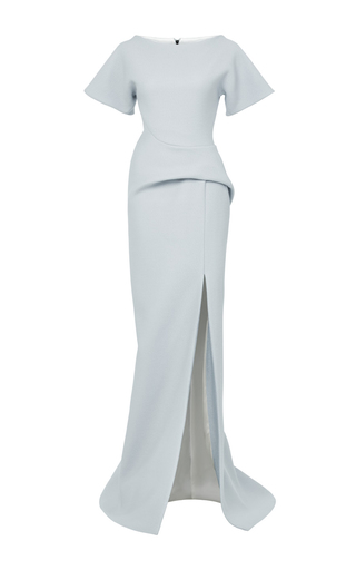 Medium maticevski grey geomorph gown