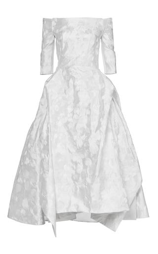 Medium maticevski white krystyna gown