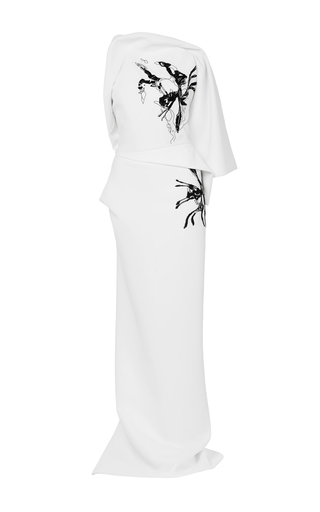 Medium maticevski white morphology gown