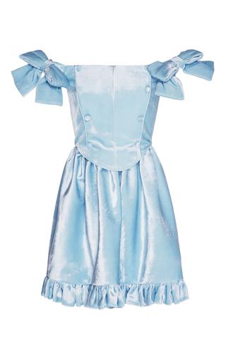Medium vivetta blue richmond off shoulder dress