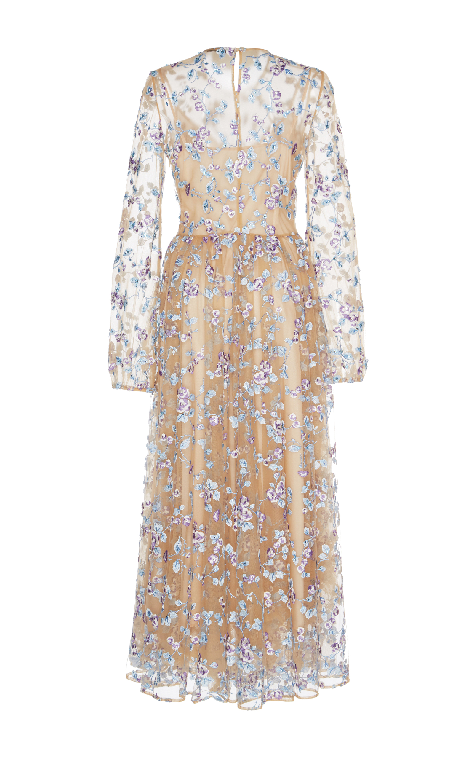Port Moresby Sheer Embroidered Dress by Vivetta | Moda Operandi
