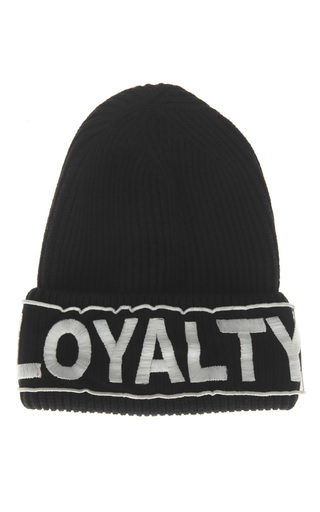e8700949f0391 Loyalty Knit Hat by Versace