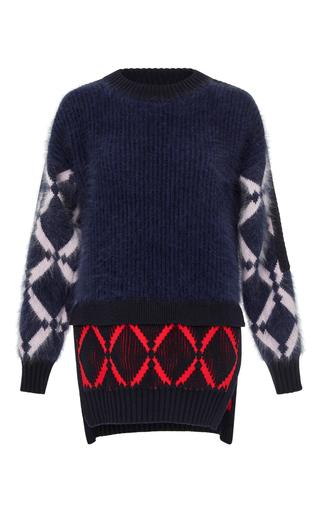 Medium versace multi tiered pullover