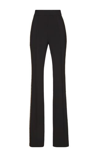 Medium francesco scognamiglio black studded high waist pants