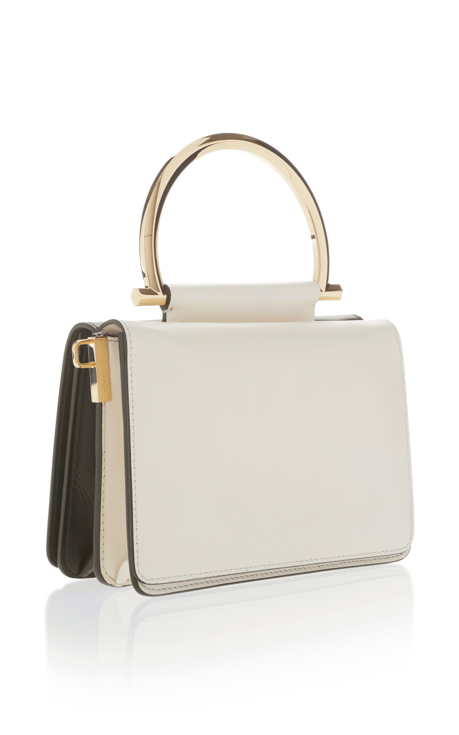 Mina Shoulder bag with Top Handle by Salvatore   Moda Operandi b3cd66981f