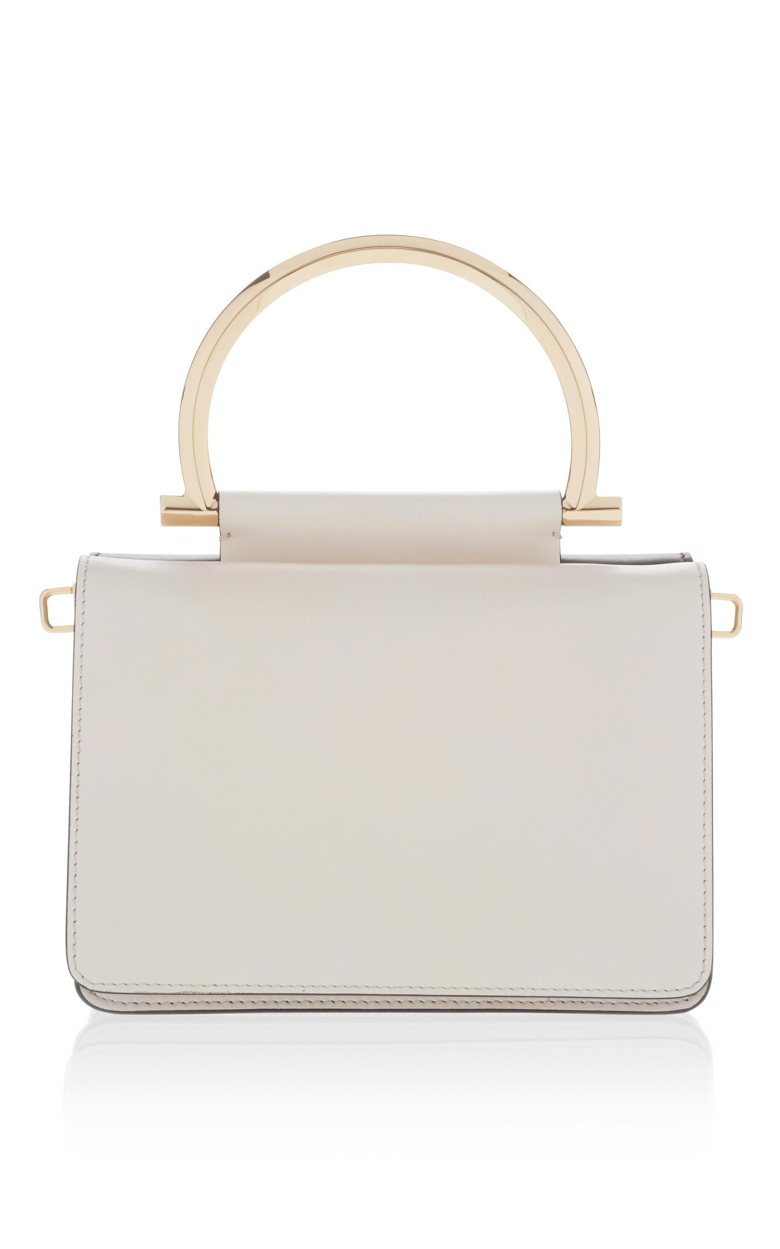 a293a40ef044 Salvatore FerragamoMina Shoulder bag with Top Handle. CLOSE. Loading